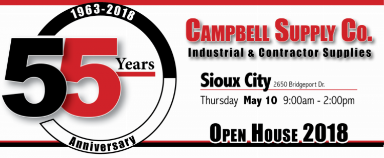 Sioux City Open House 2018 Banner