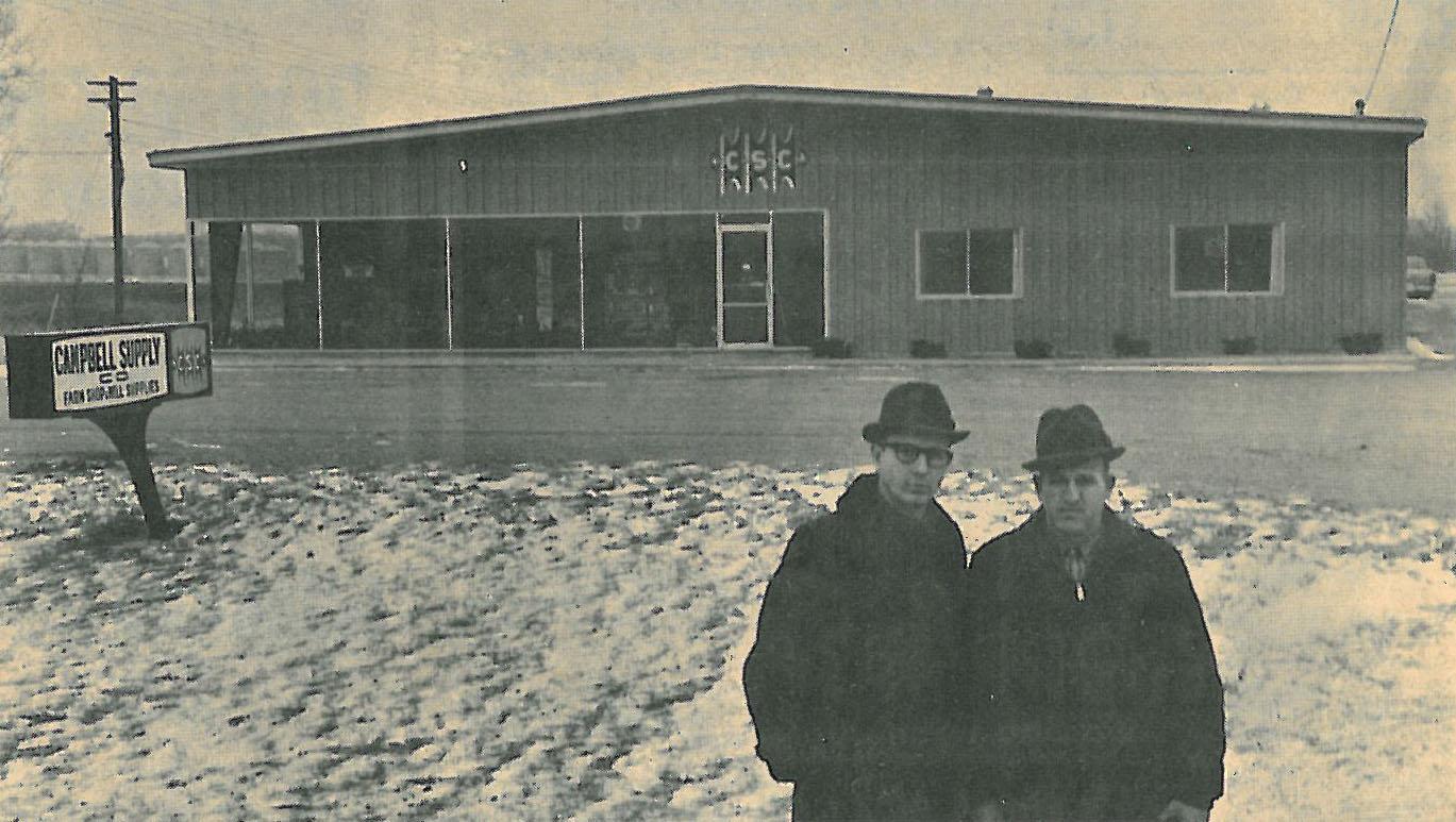 1968 John&Jim infront NewBuild